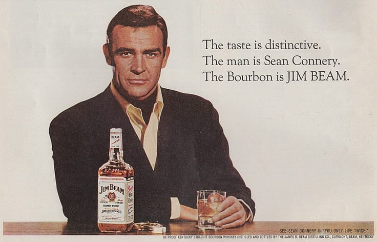 sean connery celebrity advertising