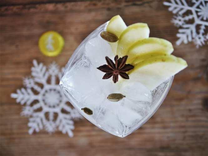 Apple Gin tonic
