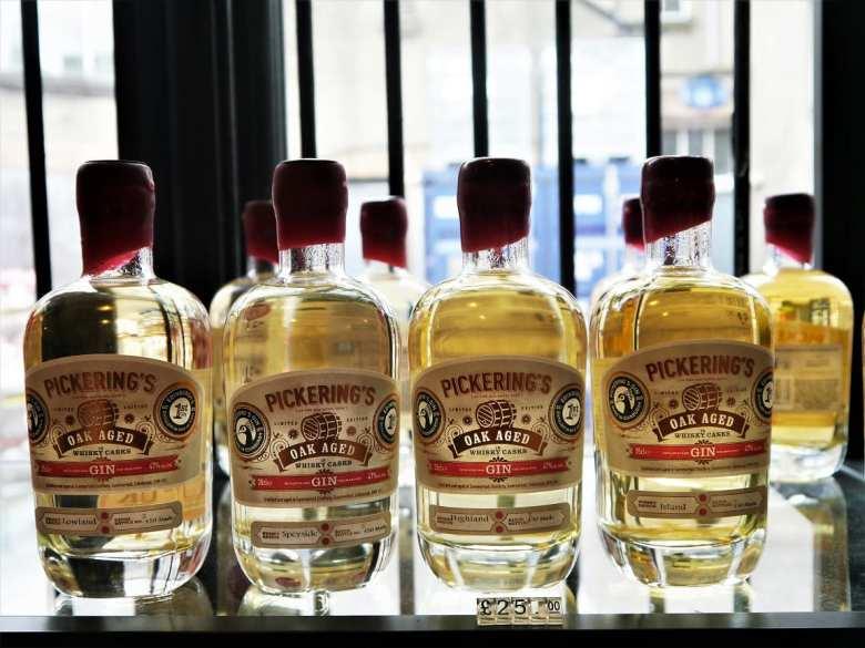 Oak aged gin