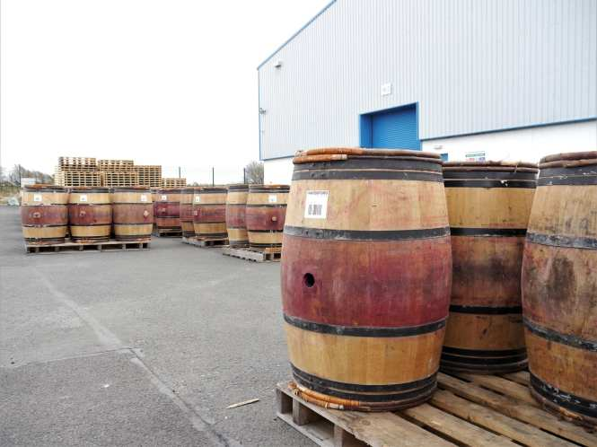 WD whisky warehouse
