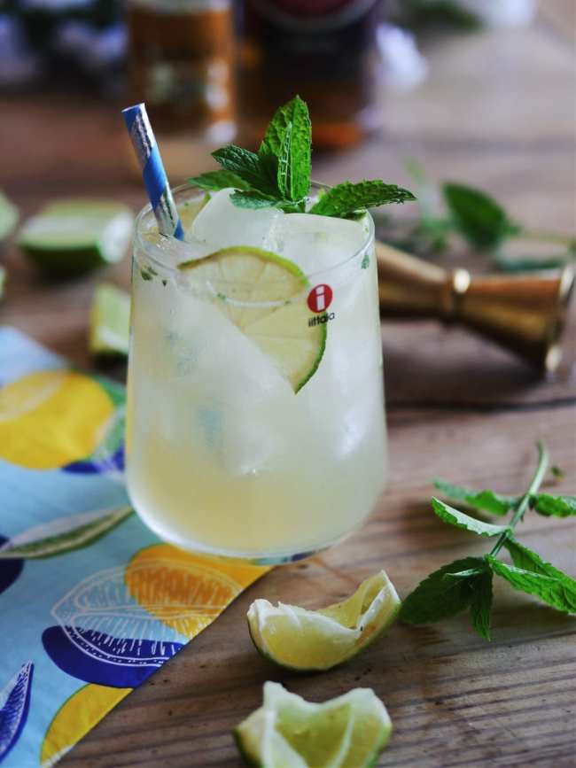 Mint & Ginger Margarita Cooler