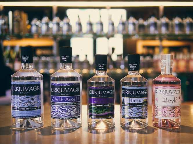Kirkjuvagr gin range