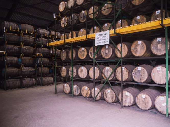 scotch whisky warehouse