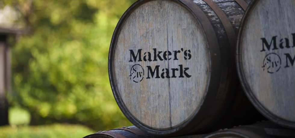 Maker's Mark whisky barrels
