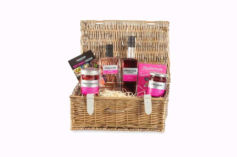 Pinkster Gin Hamper with gin goodies