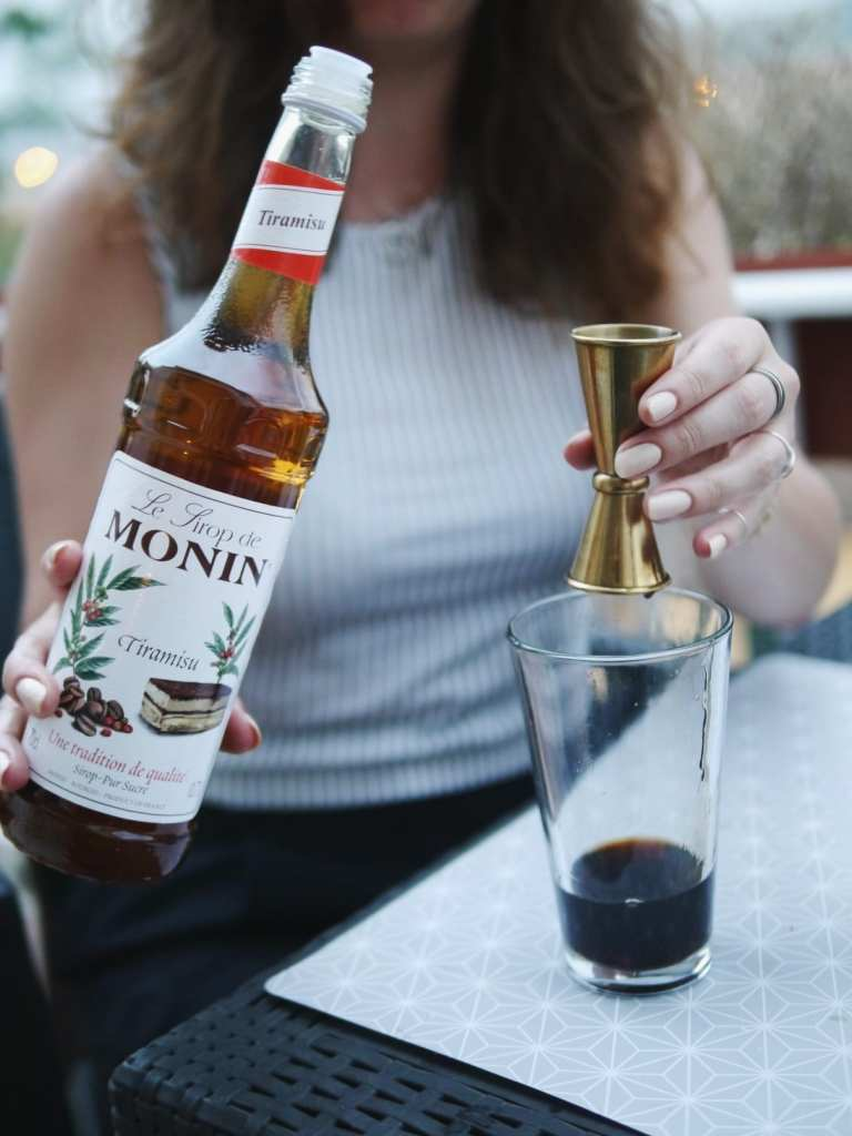 Monin tiramisu flavoured sugar syrup