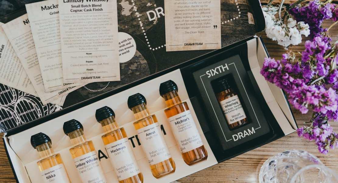 The Dram Team Tasting set