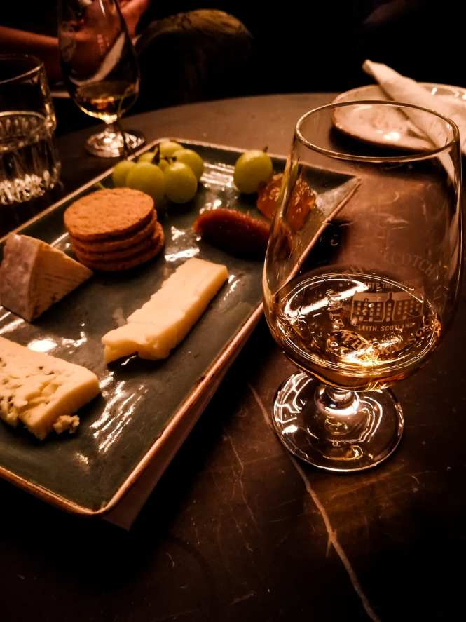 Cheese and a dram