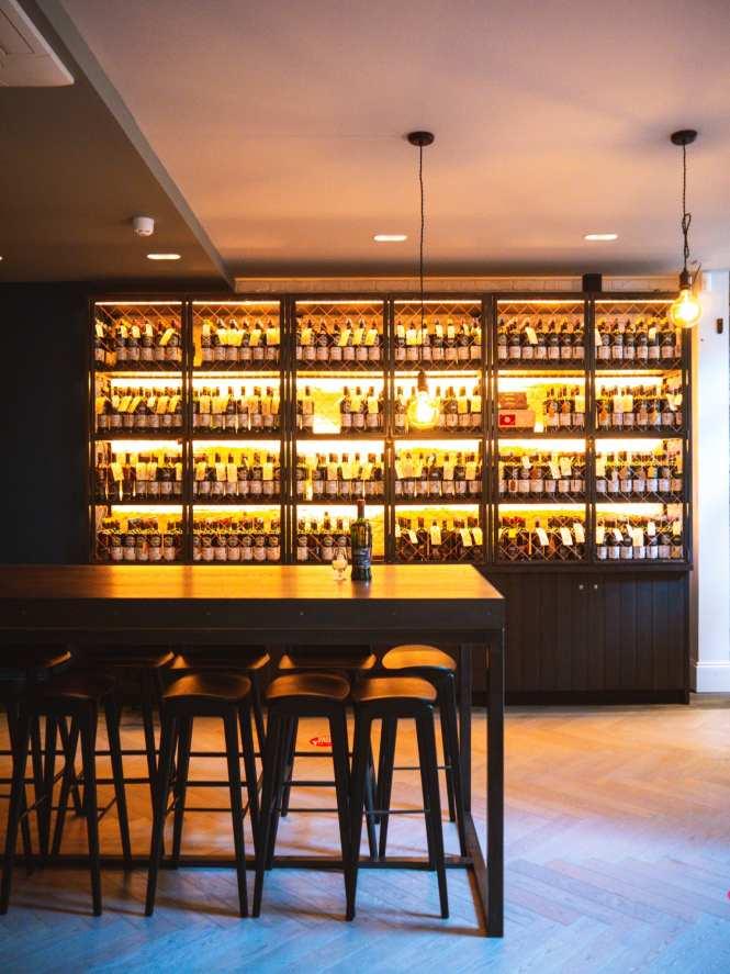 SMWS bar in Glasgow
