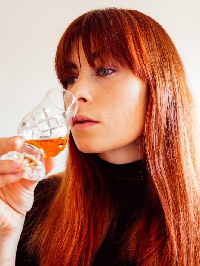 nosing whisky
