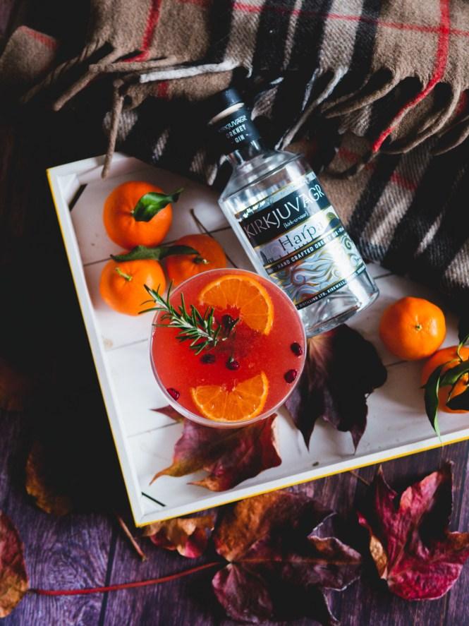 Kirkjuvagr Gin cocktail