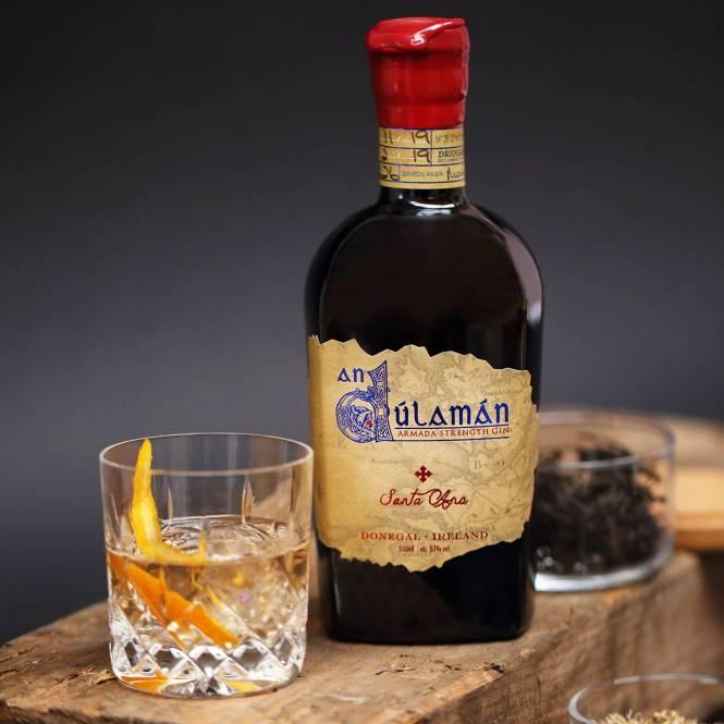 An dulaman santa ana barrel-aged gin