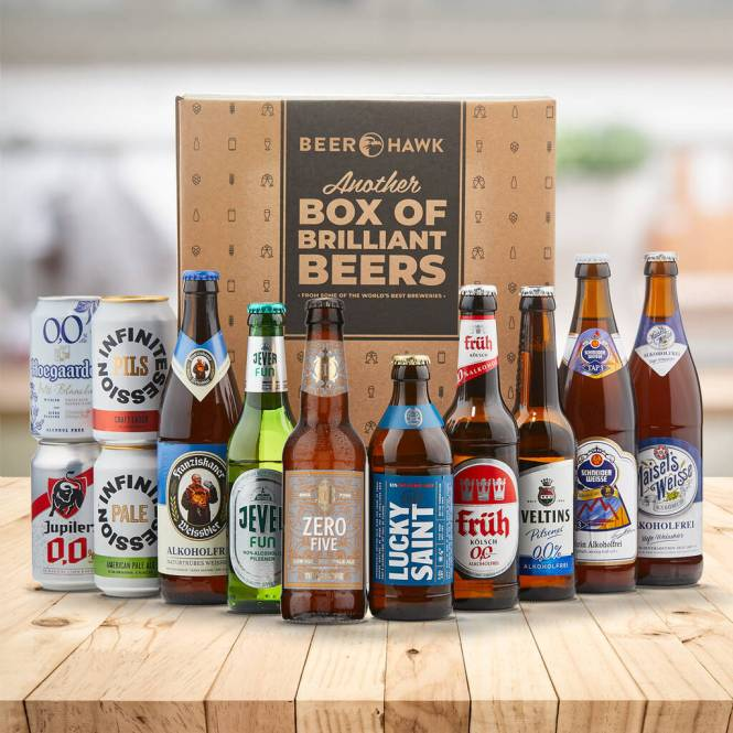 non alcoholic beer box Christmas gift
