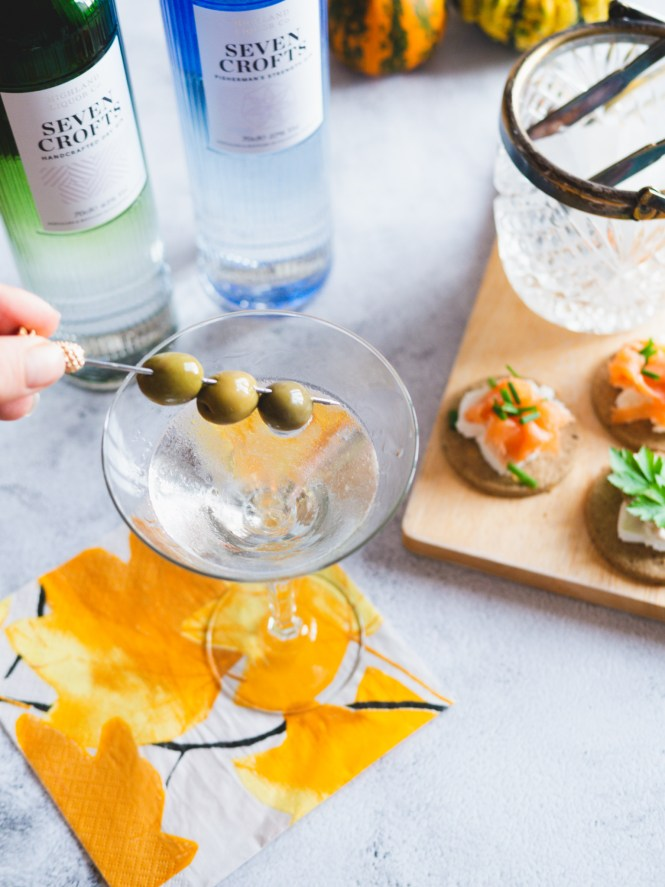 food and drink pairing with gin