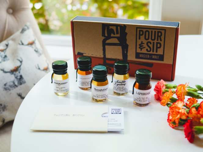 pour and sip whisky set