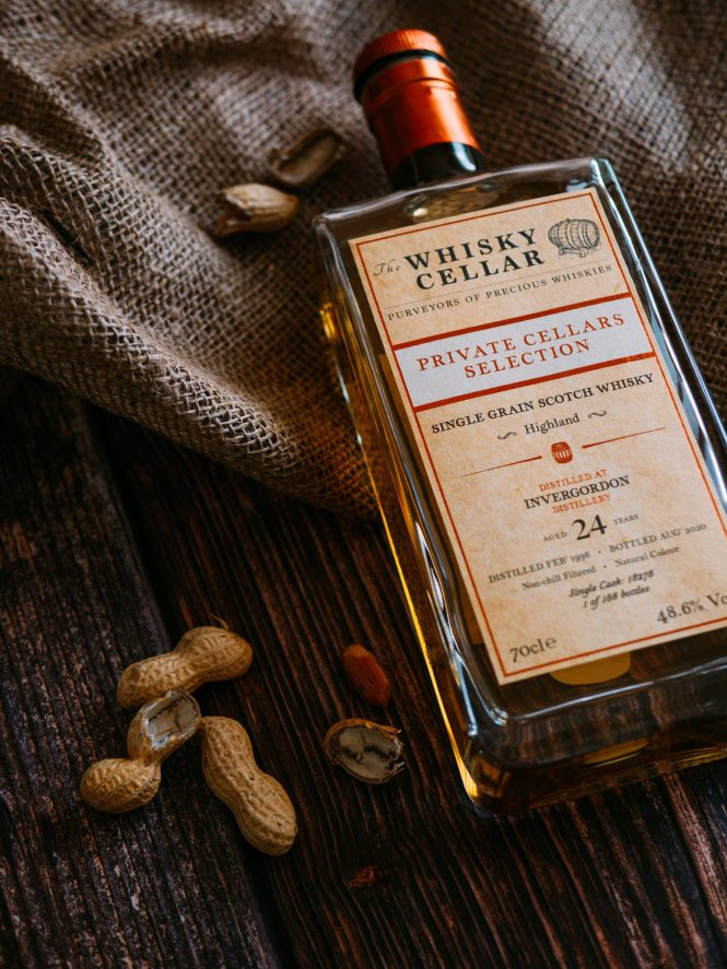 The Whisky Cellar Single grain scotch whisky