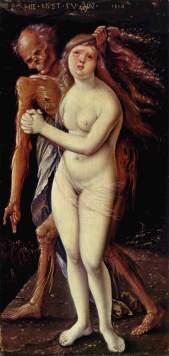 Hans Baldung Grien, Der Tod und das Mädchen, 1517