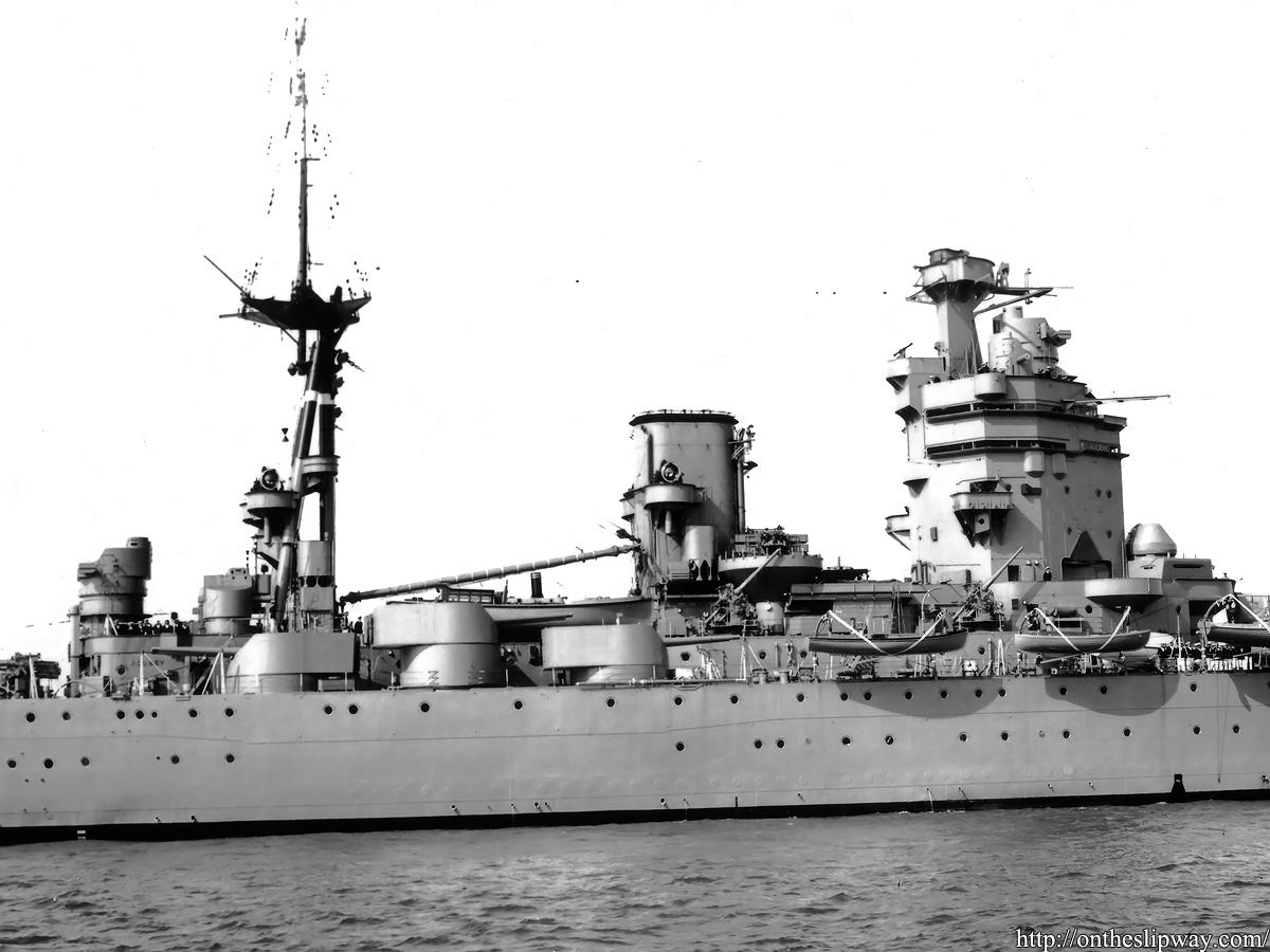 Gallery: HMS Rodney's secondary armament – On The Slipway