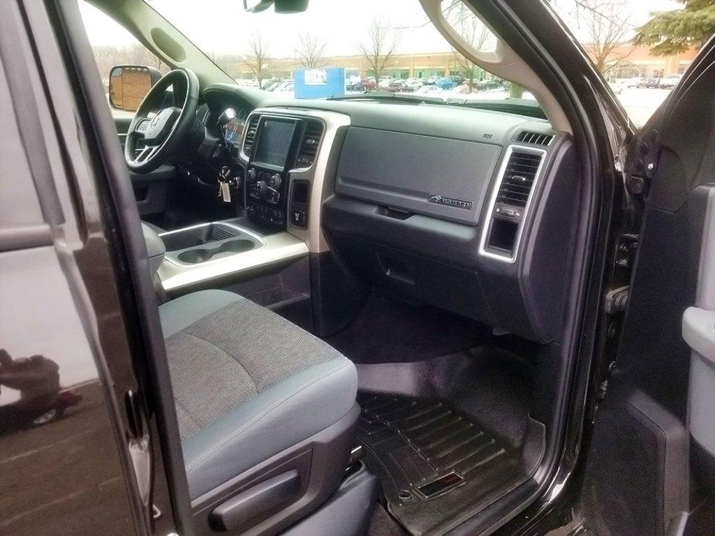 Dodge interior truck detailing Woodbury, MN.