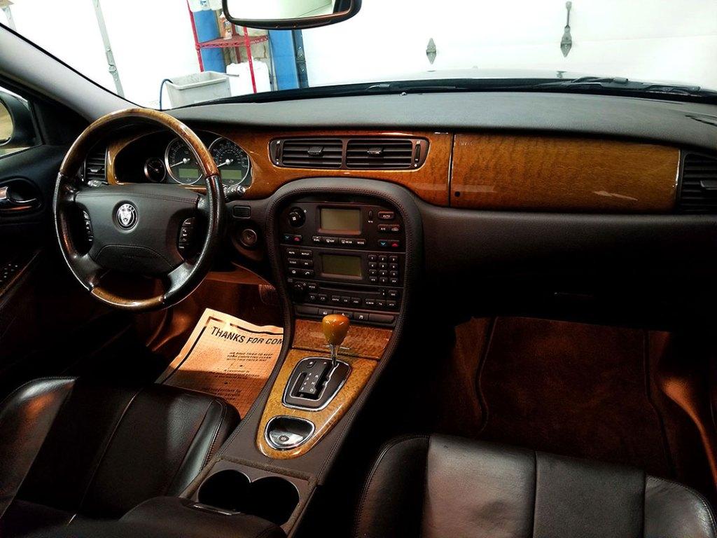 Jaguar interior auto detailing Woodbury, MN.