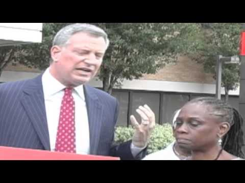 Bill DeBlasio fights for Interfaith Hospital