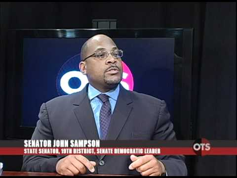 OTS, 01/16/12-MLK Day: Senator John Sampson, Part 3