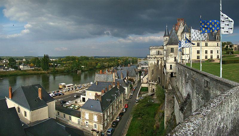 Anne Boleyn Places Chateau de Amboise