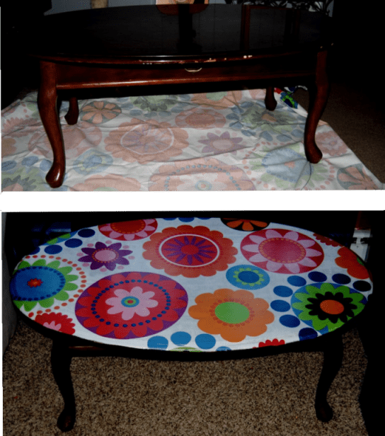 1960's Inspired Decoupage Coffee Table  (2/2)