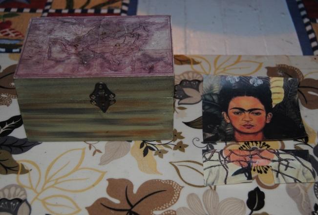 Fabulous Frida: Dollar Store Decoupage (3/6)
