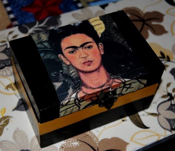 Fabulous Frida: Dollar Store Decoupage (5/6)