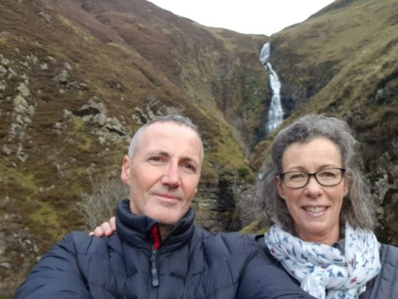 Photo opportunity of the Grey Mare's Tail