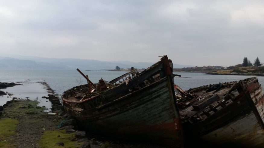 Isle of Mull. Times gone by.