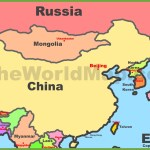 Map Of East Asia Eastern Asia