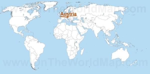 Austria Maps Maps of Austria OnTheWorldMapcom