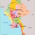 Burma Map Maps Of Burma Myanmar