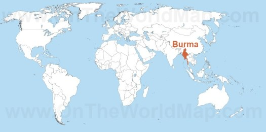 Burma Maps | Maps of Burma (Myanmar) - OnTheWorldMap.com