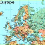 Map Of Europe With Cities