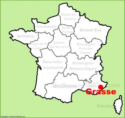 Grasse Maps  France  Maps of Grasse