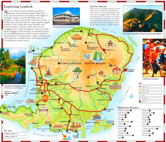 Tourist Places In Lombok