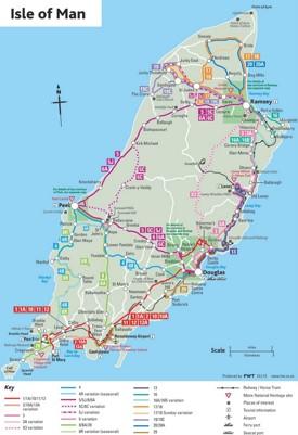 Isle of Man Maps Maps of Isle of Man