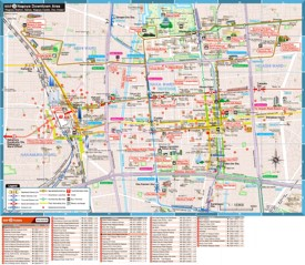 Nagoya Maps | Japan | Maps of Nagoya