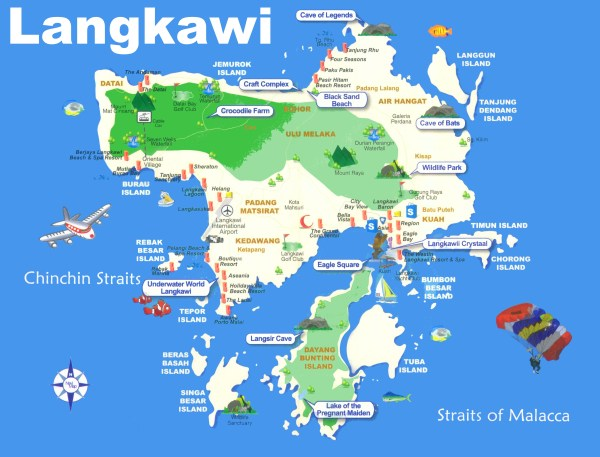List of Synonyms and Antonyms of the Word Langkawi Islands