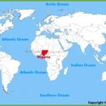 Nigeria Location On The World Map