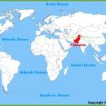 Pakistan Location On The World Map