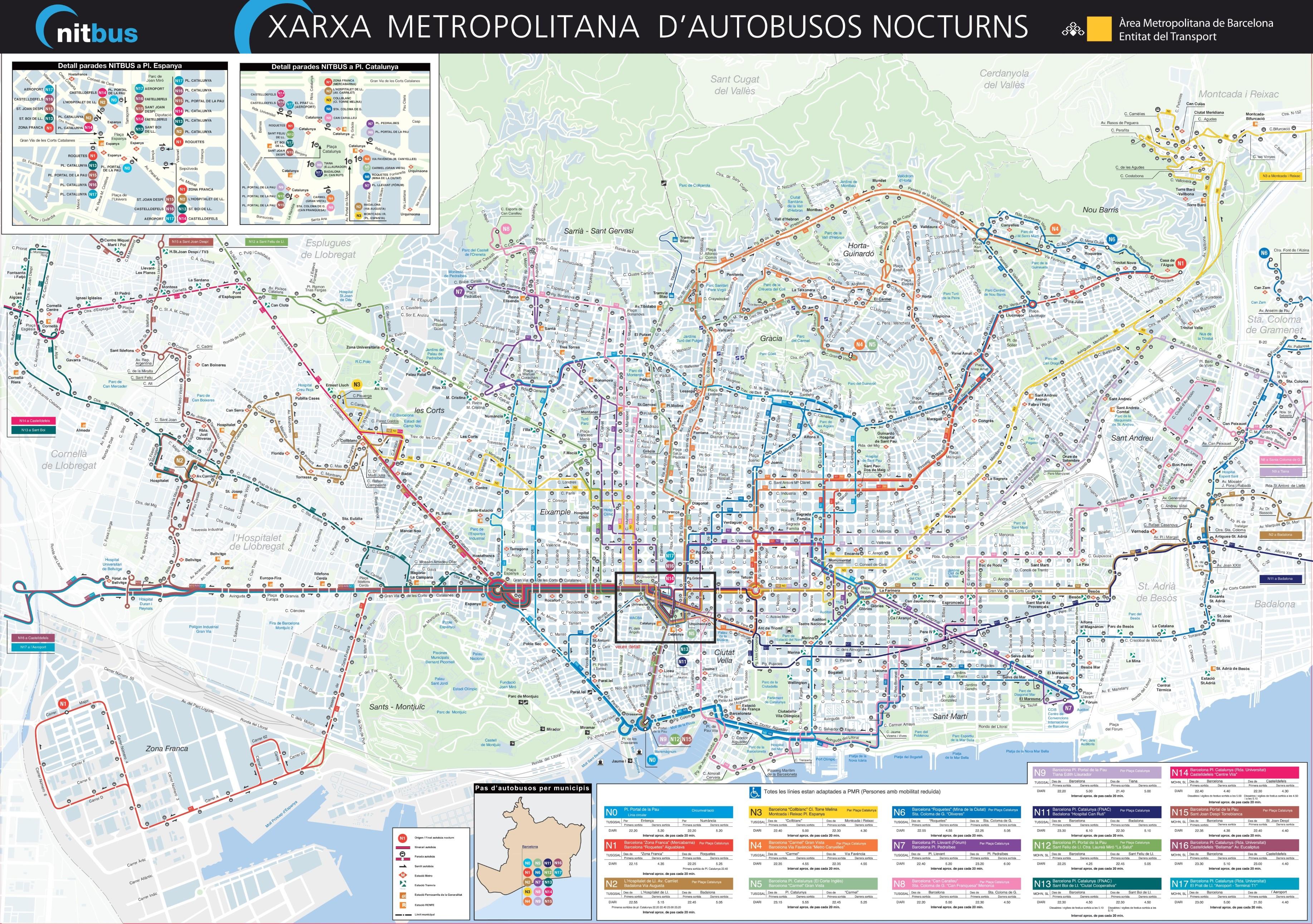Barcelona Maps Barcelona info