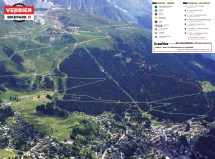 Trail Verbier Switzerland Map