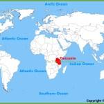 Tanzania Location On The World Map