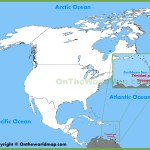 Trinidad And Tobago Location On The North America Map