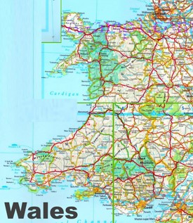Wales Maps UK Maps of Wales