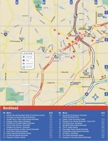 Buckhead Atlanta Hotel Map